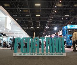 Peregrina participa da 21º FENATRAN em SP
