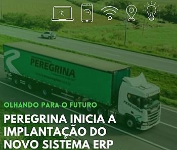 Peregrina inicia implantação de novo sistema ERP